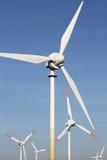 Windkraftanlagen 01 Stockfotografie