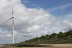 Windkraftanlagen 02 Lizenzfreies Stockfoto