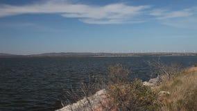 Windkraftanlagen in Oklahoma stock video footage
