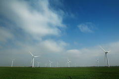 Windlandbouwbedrijf Stock Fotografie