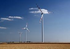 Windlandbouwbedrijf royalty-vrije stock foto's