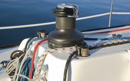 Windlass Stock Image