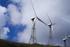 Windleistung Stockfoto