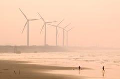 Windleistung Stockfotografie