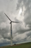 Windleistunggenerator stockfotografie