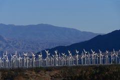 Windleistunggeneratoren stockbild