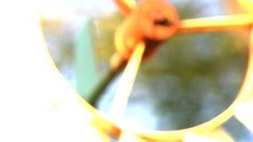 Windmühle 4 stock video