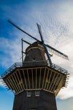 Windmühle in Amsterdam Lizenzfreies Stockfoto