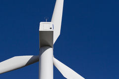 Windmühle auf blauem Himmel Lizenzfreie Stockfotos