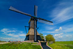 Holland-Windmühle Lizenzfreie Stockfotos