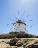 Windmühle auf Mykonos Lizenzfreie Stockbilder