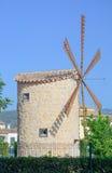 Windmühle in Binissalem Lizenzfreie Stockbilder