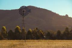 Windmühle in Brisbane Stockbild