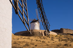 Windmühle in Consuegra Stockbild