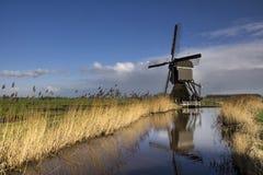 Windmühle das Broekmolen Stockfoto