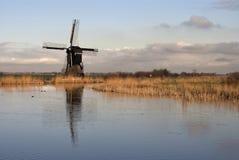 Windmühle das Broekmolen Stockfotos