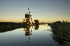 Windmühle das Gelkenesmolen Stockfotos