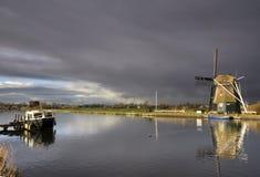 Windmühle das Hommel Lizenzfreie Stockfotos