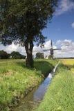 Windmühle das Oostmolen Stockfotografie