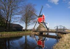 Windmühle das Rooie Wip Stockfotos