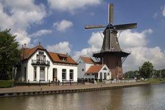 Windmühle das Zwaluw Lizenzfreies Stockfoto