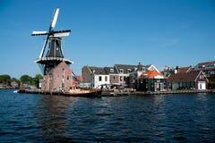 Windmühle De Adriaan Stockfoto
