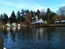 Windmühle in den Niederlanden Stockfotografie