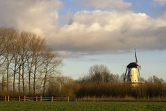 Windmühle der Schmetterling Lizenzfreies Stockbild