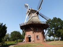 Windmühle in Deutschland 2 stockfoto