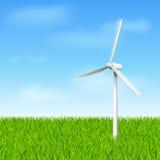 Windmühle eco Stockbilder