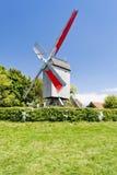 Windmühle, Frankreich Stockfotografie