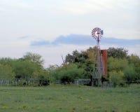 Windmühle, Goliad, Texas lizenzfreie stockfotografie