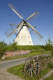 Windmühle Grossenheerse Petershagen stockfotografie