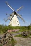 Windmühle Grossenheerse Petershagen stockfoto
