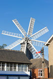 Windmühle in Heckington Stockbild