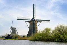 Windmühle Holland stockfotos
