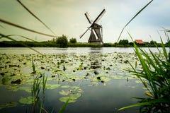 Windmühle in Holland Lizenzfreie Stockfotografie