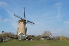 Windmühle in Hoofddorp Stockfotos