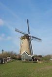 Windmühle in Hoofddorp Stockbilder