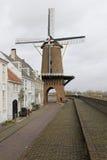 Windmühle im Wijk bij Duurstede Stockfotos