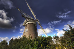 Windmühle Norfolk Stockbild