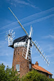 Windmühle in Norfolk, England Stockfoto
