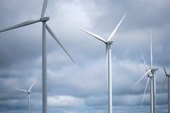 Windmühle oder Turbine für elektrischen Generator von Khao Kho, Phetchabun stockfotos