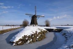 Windmühle Oude Doornse Molen lizenzfreies stockbild