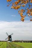 Windmühle in Pitstone, England Lizenzfreies Stockbild