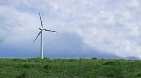Windmühle - reine Energie Stockbilder