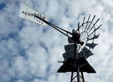 Windmühle Sanibel Captiva Florida lizenzfreies stockbild
