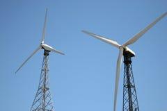 Windmühle in Spanien lizenzfreies stockfoto