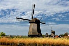 Windmühle Stompetoren, Holland Stockfotos