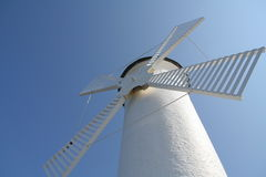 Windmühle in Swinoujscie Lizenzfreies Stockbild